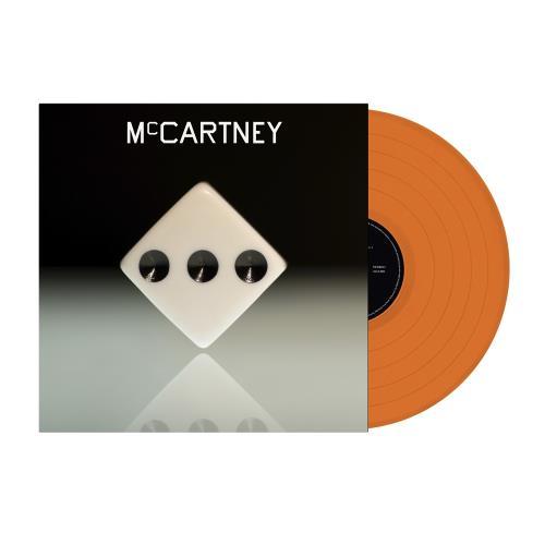 Paul McCartney and Wings McCartney III - Orange Vinyl vinyl LP album (LP record) UK MCCLPMC758997