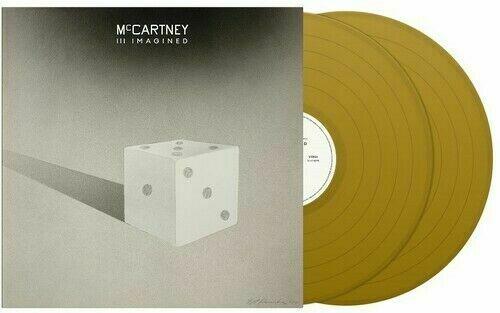 Paul McCartney and Wings McCartney III Imagined - Gold Vinyl Indie Exclusive - Sealed 2-LP vinyl record set (Double Album) UK MCC2LMC772411