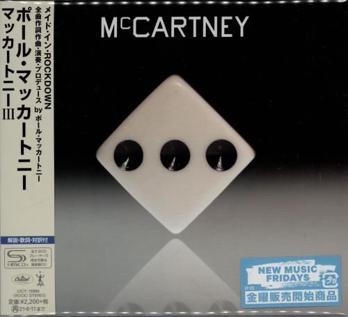 Paul McCartney and Wings McCartney III SHM CD Japanese MCCHMMC765101