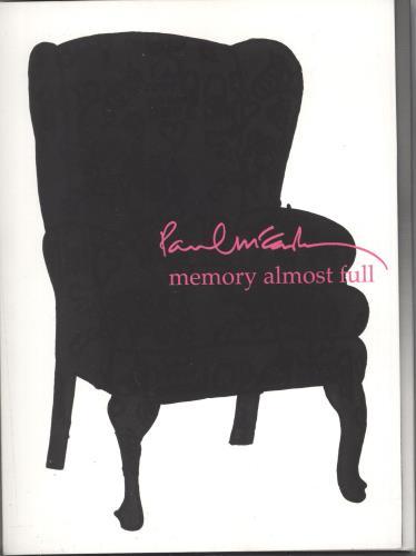 Paul McCartney and Wings Memory Almost Full 2 CD album set (Double CD) UK MCC2CME726283