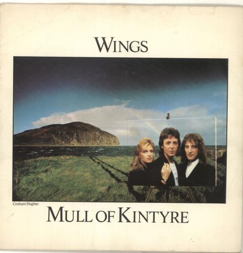 "Paul McCartney and Wings Mull Of Kintyre + Sleeve 7"" vinyl single (7 inch record) UK MCC07MU47054"