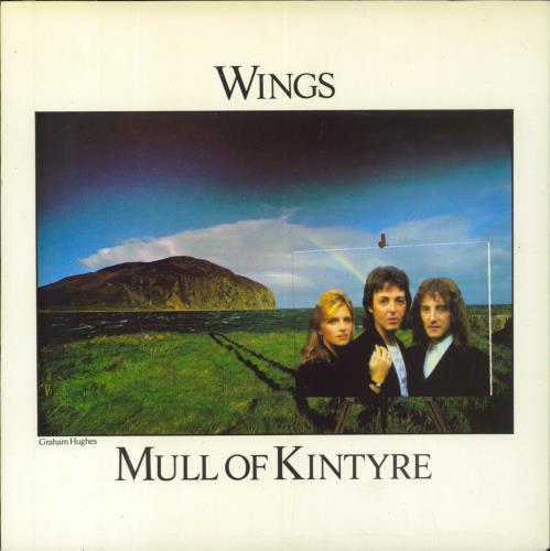 "Paul McCartney and Wings Mull Of Kintyre - P/S 7"" vinyl single (7 inch record) UK MCC07MU47054"