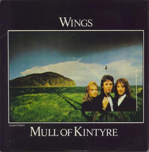 Paul McCartney and Wings Mull Of Kintyre - Yellow Vinyl