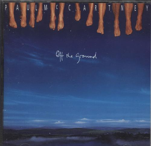 Paul McCartney and Wings Off The Ground - CD + Cassette CD album (CDLP) UK MCCCDOF742926