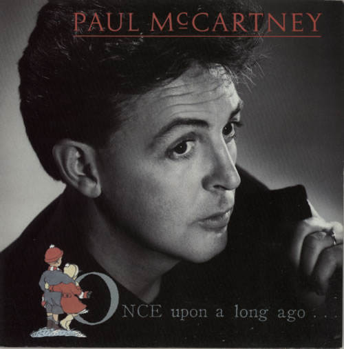 """Paul McCartney and Wings Once Upon A Long Ago - Solid 7"""" vinyl single (7 inch record) UK MCC07ON592386"""