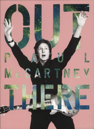 Paul McCartney and Wings Out There Tour 2013 tour programme Japanese MCCTROU699800
