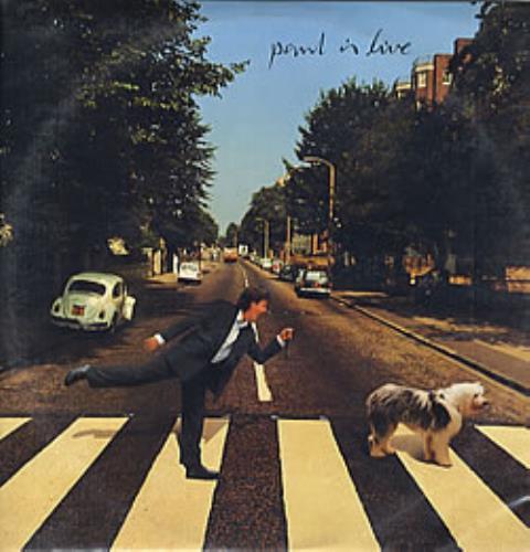 Paul McCartney and Wings Paul Is Live - Promo Stamped 2-LP vinyl record set (Double Album) Colombian MCC2LPA280613