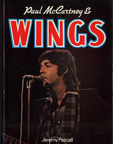 Paul McCartney And Wings Mccartney Book UK MCCBKPA126264