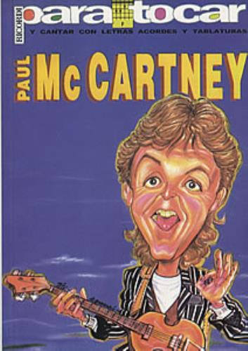 Paul McCartney and Wings Paul McCartney book Argentinean MCCBKPA321831
