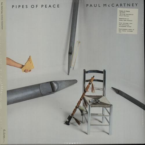 Paul McCartney and Wings Pipes Of Peace - 180gm - Sealed 2-LP vinyl record set (Double Album) UK MCC2LPI641463