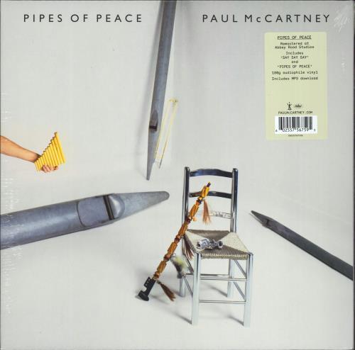 Paul McCartney and Wings Pipes Of Peace - 180gm - Sealed vinyl LP album (LP record) UK MCCLPPI773858