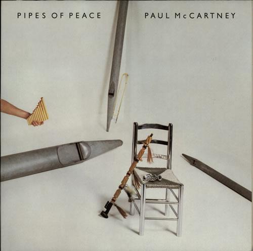 Paul McCartney and Wings Pipes Of Peace vinyl LP album (LP record) Dutch MCCLPPI582416
