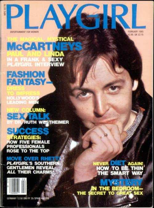 Paul Mccartney And Wings Playgirl Us Magazine 120738 Feb