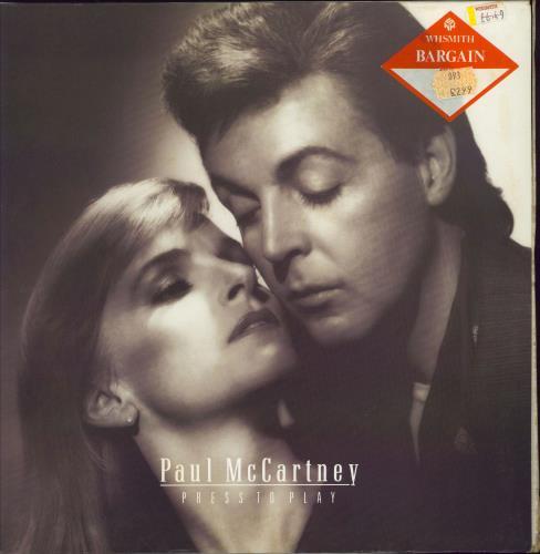 Paul McCartney and Wings Press To Play - Padgam Mix vinyl LP album (LP record) UK MCCLPPR772455