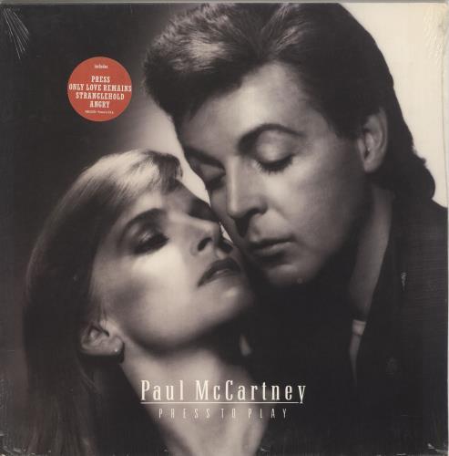 Paul McCartney and Wings Press To Play - Sealed vinyl LP album (LP record) US MCCLPPR522476