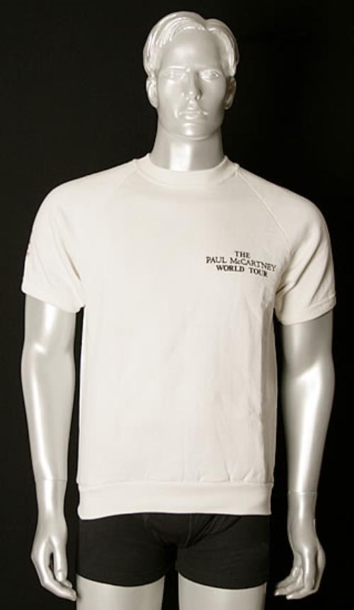Paul McCartney and Wings Promotional 1990 World Tour Shirt t-shirt US MCCTSPR492354