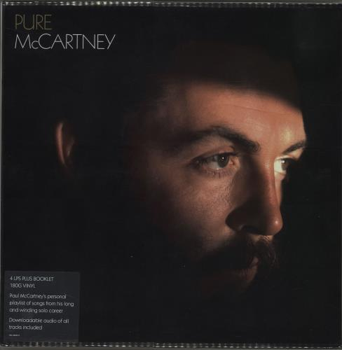 Paul McCartney and Wings Pure McCartney - 180gram Vinyl - Sealed Vinyl Box Set UK MCCVXPU653871