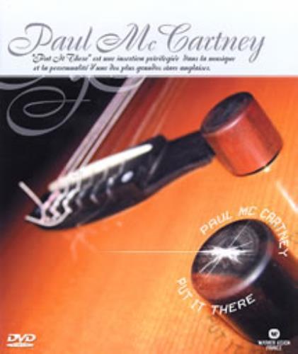 Paul McCartney and Wings Put It There handbill French MCCHBPU271110