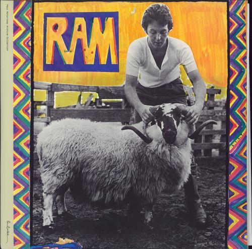 Paul McCartney and Wings Ram - 180g 2-LP vinyl record set (Double Album) UK MCC2LRA777001