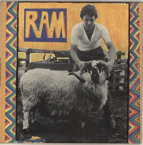 Paul McCartney and Wings Ram - 1st - EX vinyl LP album (LP record) UK MCCLPRA423623
