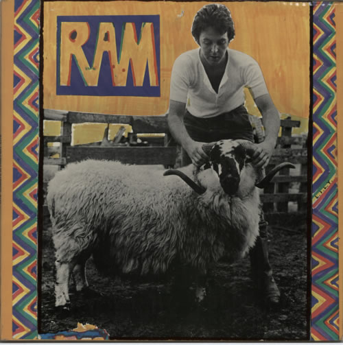 Paul McCartney and Wings Ram - 1st - VG vinyl LP album (LP record) UK MCCLPRA607522