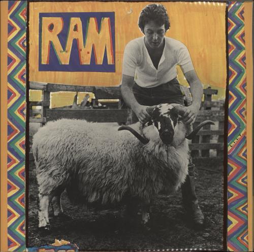 Paul McCartney and Wings Ram - 1st - WOL vinyl LP album (LP record) UK MCCLPRA766983