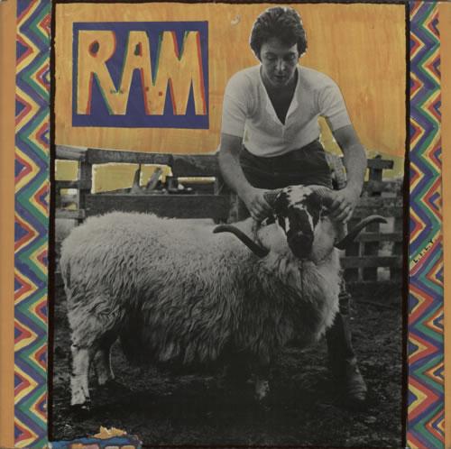 Paul McCartney and Wings Ram - 1st vinyl LP album (LP record) UK MCCLPRA249608