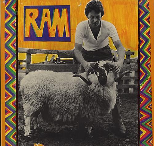 Paul McCartney and Wings Ram - Laminated vinyl LP album (LP record) UK MCCLPRA388151