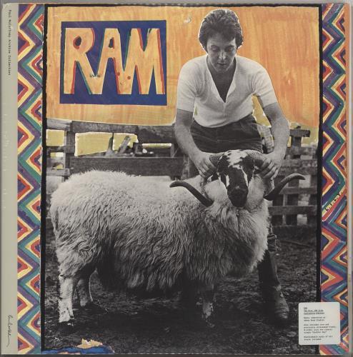 Paul McCartney and Wings Ram - Sealed 2-LP vinyl record set (Double Album) UK MCC2LRA712505
