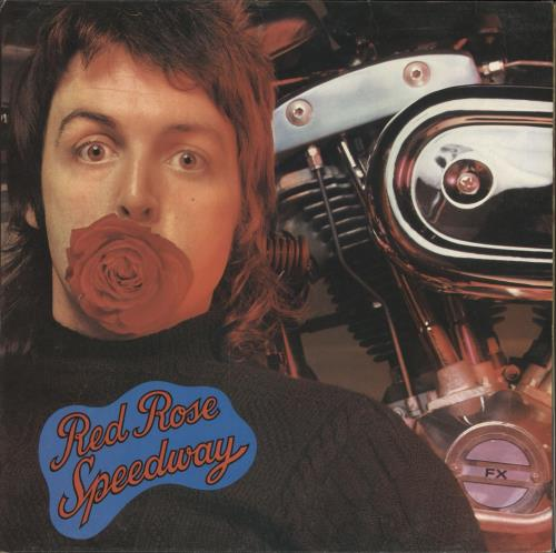 Paul McCartney and Wings Red Rose Speedway - 1st + Detached Booklet vinyl LP album (LP record) UK MCCLPRE724864