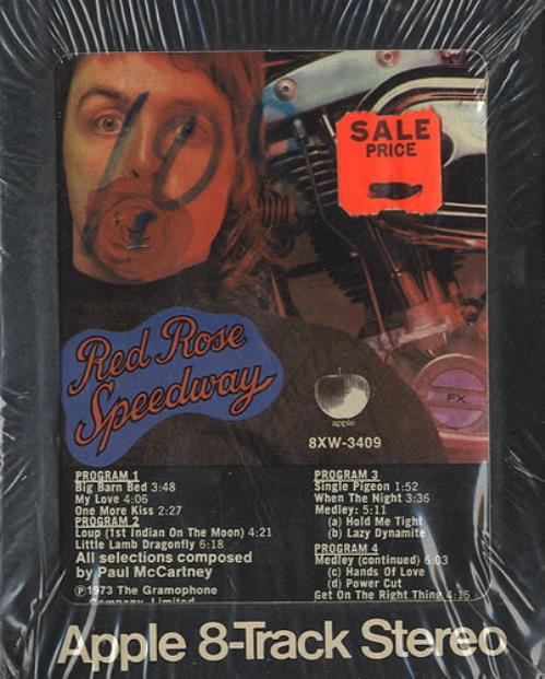 Paul McCartney and Wings Red Rose Speedway - Sealed US 8