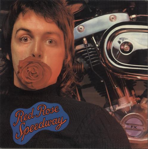 Paul McCartney and Wings Red Rose Speedway vinyl LP album (LP record) Greek MCCLPRE736886