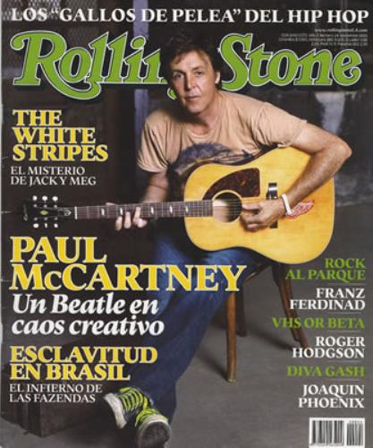 Paul McCartney and Wings Rolling Stone - November 2005 Colombian magazine