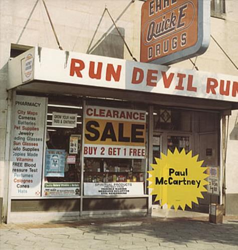 Paul McCartney and Wings Run Devil Run vinyl LP album (LP record) UK MCCLPRU145895