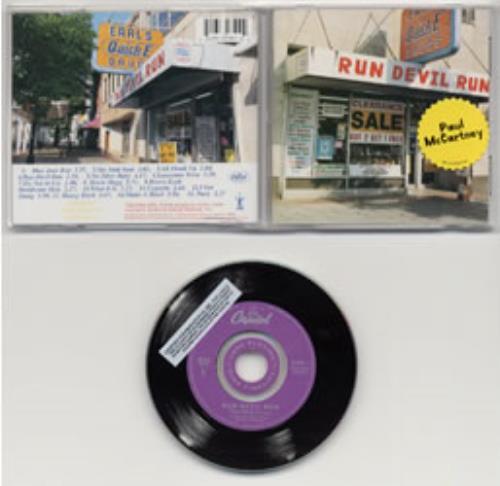 Paul McCartney and Wings Run Devil Run CD album (CDLP) US MCCCDRU146283