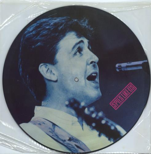 """Paul McCartney and Wings Spies Like Us 12"""" vinyl picture disc 12inch picture disc record UK MCC2PSP12517"""