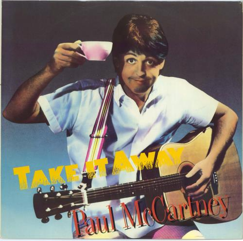 "Paul McCartney and Wings Take It Away - EX 12"" vinyl single (12 inch record / Maxi-single) UK MCC12TA770644"