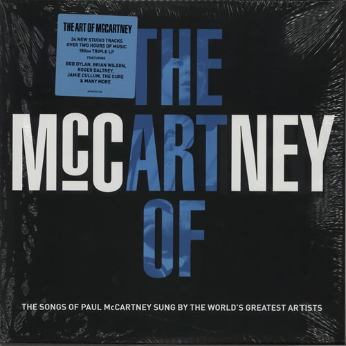 Paul McCartney and Wings The Art Of McCartney - 180 Gram - Sealed 3-LP vinyl record set (Triple Album) UK MCC3LTH616601