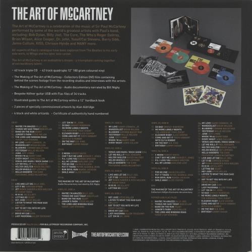 Paul McCartney and Wings The Art Of McCartney - 180 Gram Deluxe Vinyl Box Set UK MCCVXTH646604