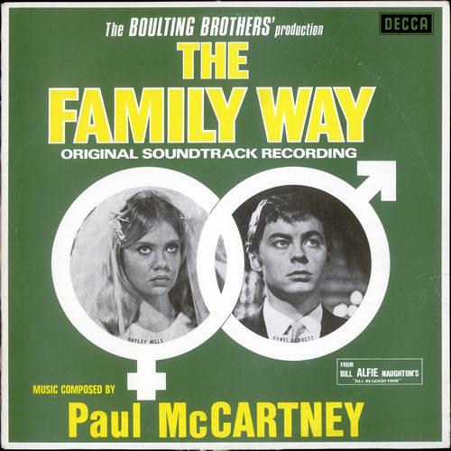 Paul McCartney and Wings The Family Way vinyl LP album (LP record) Australian MCCLPTH508366