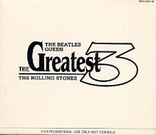 Paul McCartney and Wings The Greatest 3 CD Album Box Set Japanese MCCDXTH225802