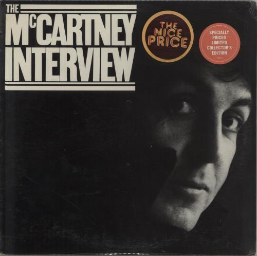Paul McCartney and Wings The McCartney Interview - Sealed vinyl LP album (LP record) US MCCLPTH12990