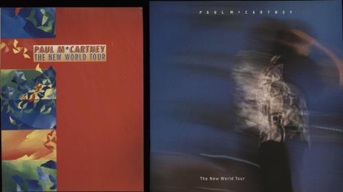 Paul McCartney and Wings The New World Tour + Bag & Ticket tour programme UK MCCTRTH756750