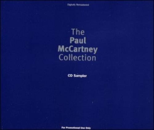 Paul McCartney and Wings The Paul McCartney Collection CD Sampler CD album (CDLP) UK MCCCDTH17950