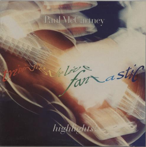 Paul McCartney and Wings Tripping The Live Fantastic Highlights! - Green Vinyl vinyl LP album (LP record) Czech MCCLPTR342500