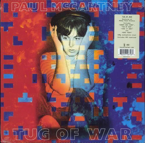 Paul McCartney and Wings Tug Of War - 180gm - Sealed vinyl LP album (LP record) UK MCCLPTU773857