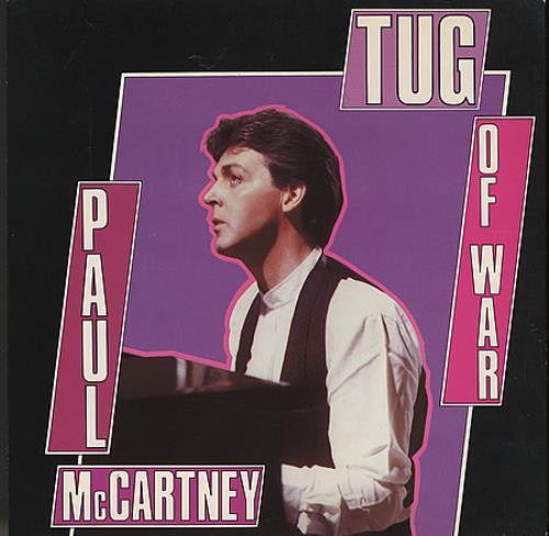 "Paul McCartney and Wings Tug Of War 7"" vinyl single (7 inch record) UK MCC07TU38775"