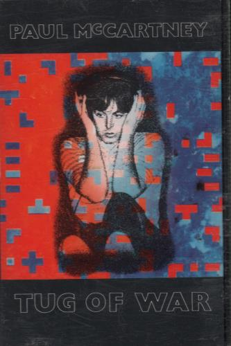 Paul McCartney and Wings Tug Of War cassette album UK MCCCLTU643955