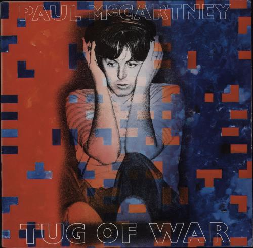 Paul McCartney and Wings Tug Of War vinyl LP album (LP record) US MCCLPTU764825