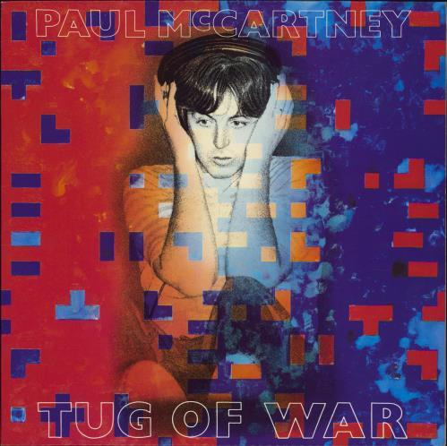 Paul McCartney and Wings Tug Of War vinyl LP album (LP record) UK MCCLPTU771286